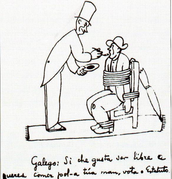 Alfonso Daniel Rodr_guez Castelao - Esbozo para os carteis de propaganda pro Estatuto de Autonom_a de Galicia.jpg